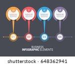 infographics template | Shutterstock .eps vector #648362941