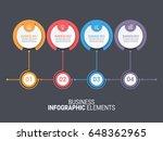 infographics template   Shutterstock .eps vector #648362965