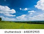 wittenham clumps  thames valley ...   Shutterstock . vector #648392905
