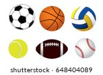 vector illustration of a set of ... | Shutterstock .eps vector #648404089