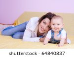 mother's love. | Shutterstock . vector #64840837