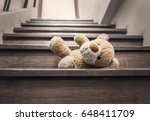 Teddy Bear Lay On The Stairs I...