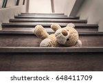 Teddy Bear Lay On The Stairs I...