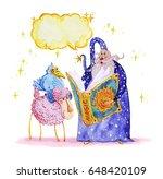 artistic watercolor hand drawn...   Shutterstock . vector #648420109