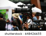 professional photographer and... | Shutterstock . vector #648426655