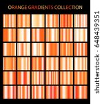 orange color gradients... | Shutterstock .eps vector #648439351
