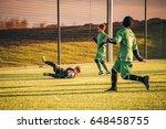 praha  czech republic    nov 20 ... | Shutterstock . vector #648458755
