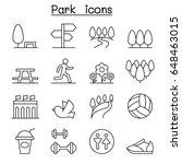 park  public park  national... | Shutterstock .eps vector #648463015