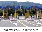 Toll Gate In Croatia