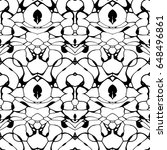seamless abstract pattern in... | Shutterstock . vector #648496861