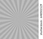 grey abstract sun burst... | Shutterstock .eps vector #648502129