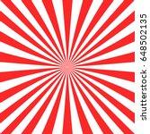 abstract red sun burst... | Shutterstock .eps vector #648502135