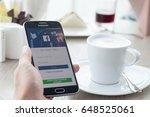 bangkok  thailand   may 27 ... | Shutterstock . vector #648525061