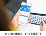 bangkok  thailand   may 28 ... | Shutterstock . vector #648536545