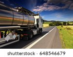 truck on the road | Shutterstock . vector #648546679