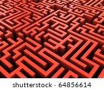 abstract 3d illustration of... | Shutterstock . vector #64856614