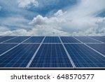 solar power plant to innovation ... | Shutterstock . vector #648570577