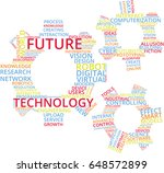 future technology word cloud... | Shutterstock .eps vector #648572899