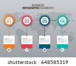 modern infographic timeline... | Shutterstock .eps vector #648585319