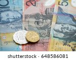 australian dollar cash money | Shutterstock . vector #648586081
