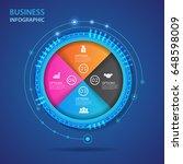 vector infographic of...   Shutterstock .eps vector #648598009