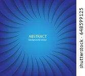 radial line vector on blue...   Shutterstock .eps vector #648599125