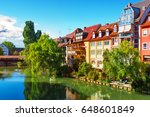 scenic summer view of the... | Shutterstock . vector #648601849