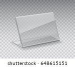 holder  photo frame or blank... | Shutterstock .eps vector #648615151
