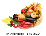 lots of fresh and ripe... | Shutterstock . vector #6486520