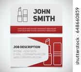business card print template... | Shutterstock .eps vector #648660859