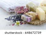Handmade Soap With Bath And Sp...
