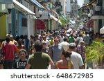 havana   circa june  2011 ... | Shutterstock . vector #648672985