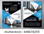 business brochure. flyer design.... | Shutterstock .eps vector #648676255