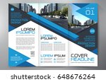 business brochure. flyer design.... | Shutterstock .eps vector #648676264