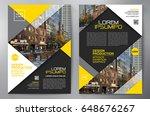 business brochure. flyer design.... | Shutterstock .eps vector #648676267