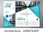 business brochure. flyer design.... | Shutterstock .eps vector #648676309