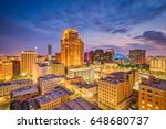 New Orleans, Louisiana, USA Central Business District skyline.