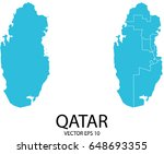 couple set map   blue map of... | Shutterstock .eps vector #648693355