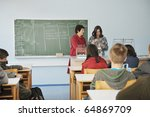 science and chemistry classees... | Shutterstock . vector #64869709