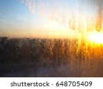an abstract picture of ice. | Shutterstock . vector #648705409