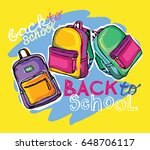 hand drawn vector set of sketch ... | Shutterstock .eps vector #648706117