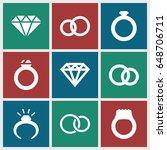 engagement icons set. set of 9...   Shutterstock .eps vector #648706711
