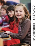 it education with children... | Shutterstock . vector #64871470