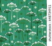 seamless pattern with... | Shutterstock . vector #648734911