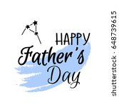 happy father's day digital... | Shutterstock .eps vector #648739615