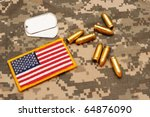 Pistol Rounds Dog Tags And Us...