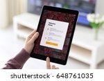 alushta  russia   may 23  2017  ... | Shutterstock . vector #648761035