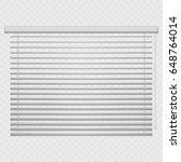 jalousie  louvers on... | Shutterstock .eps vector #648764014