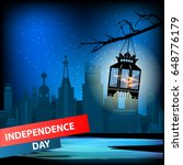 independence day usa  vector.... | Shutterstock .eps vector #648776179