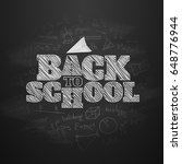 back to school banner.... | Shutterstock .eps vector #648776944